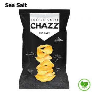 CHAZZ Bulvių traškučiai su jūros druska 90 g