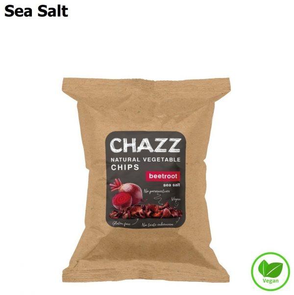 CHAZZ Burokėlių traškučiai su jūros druska 50 g